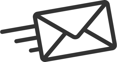 Newsletter icon line drawing